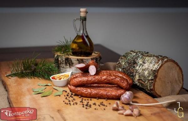 Kiełbasa Polska pieczona z szynki